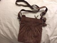 Brown handbag from Next