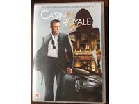 Casino Royale Dvd. Unwrapped, never used.