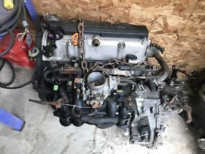 2002 Honda Civic engine and trans