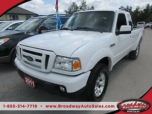 2011 Ford Ranger GREAT VALUE FX4 MODEL 4 PASSENGER 4.0L - V6.. 4