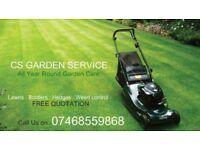 CS Garden Services - Gardening Maintenance Services - Altrincham
