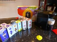 Bosch Tassimo Fidelia coffee maker with pods - pre-owned but in very good condition
