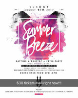 Summer breeze daytime/rooftop party