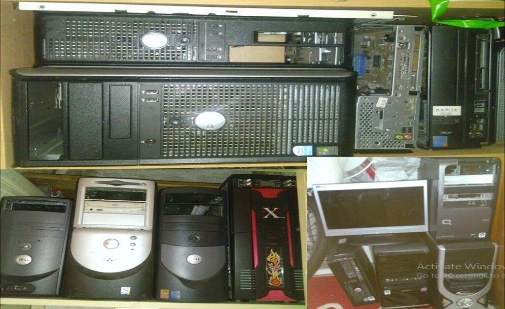 12X Faulty desktop computers