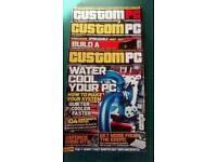 Custom PC magazine x3