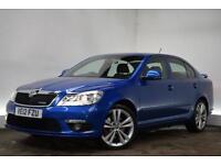 SKODA OCTAVIA 2.0 VRS TDI CR DSG 5d AUTO 170 BHP (blue) 2012
