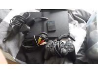PS2 Slimline with controller & 8mb membory card