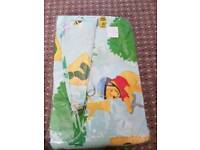 Winnie the pooh curtains with tie backs