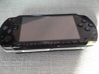 PSP games console and 8 games