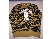 THE BATHING APE BAPE SWEATSHIRT