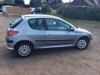 PEUGEOT 206 2005 MODEL 3 DOOR GREAT SPEC LOW MILLAGE DRIVES GOOD FIAT REANULT KIA FORD SEAT