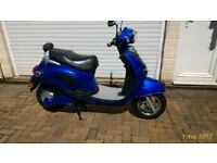 Electric Moped 2011, Motor Power 2000W. Only 547 Miles (881km) from new.