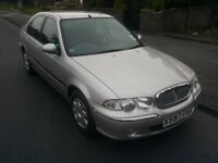 rover 45 with 11 months mot till june 2018 and only 53000 miles £325 NO OFFERS