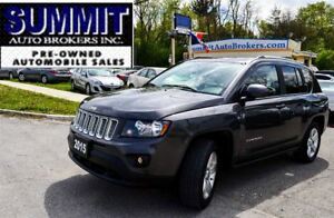 2015 Jeep Compass NORTH | 4X4 | REMOTE START | CAR-PROOF CLEAN