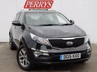 2015 Kia Sportage 1.7 CRDi ISG 2 5 door Diesel Estate