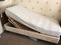 Electric mobility bed