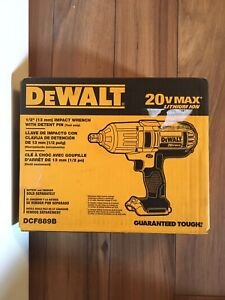 "Dewalt 20 Volt Max 1/2""  impact wrench with 6.0 battery"