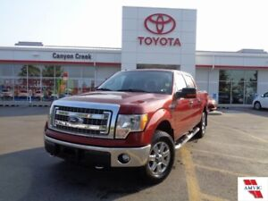 2014 Ford F-150 5.0L XTR 4x4 SuperCrew ONE OWNER ONLY 46000KMS!