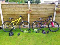 VooDoo Bizango 29er Mountain Bike and VooDoo Soukri Womens Mountain Bike for sale