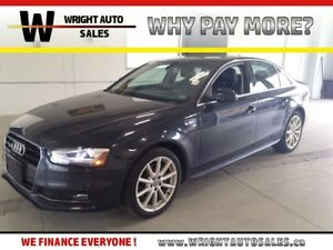 2016 Audi A4 TFSI|LEATHER|SUNROOF|59,580 KMS