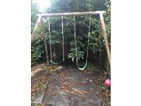 Tp wooden garden swing £40 ono