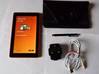 AMAZON KINDLE FIRE HD7 - 5TH GENERATION -TANGERINE .8 gb IN EXCELLENT Condition/Working Order