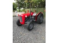 Massey Fergusson 35 (fully restored)