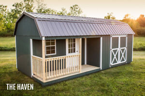 Sheds and garages, gazebos  from 8x8 and up