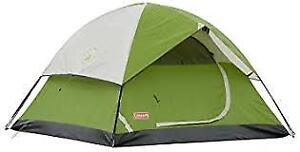 Coleman 3-Person Sundome Tent in good condition