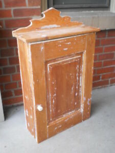 Antique Hanging Wall Cabinet