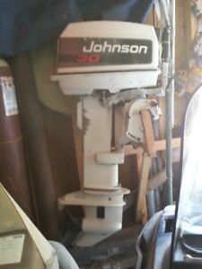 30 HP Johnson Outboard Motor