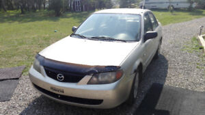 2003 Mazda Protege Sedan with LOW MILEAGE