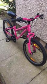 "Specialised pink girls hotrock 20"" bicycle"