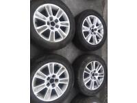 audi a1 alloy wheels with tyres...