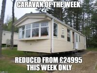 2008 Willerby Granada static caravan for sale at Percy Wood Country Park in Northumberland