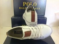 Men's Polo Ralph Lauren Cantor Lw-Ne Sneakers Trainer Shoes, Size UK 9 / EU 43