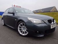 Dec 2007 LCI MODEL BMW 5 Series 520d M Sport! Factory Xenons! Lovely Example! FINANCE & WARRANTY
