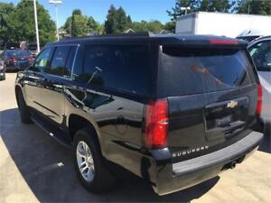 2016 Chevrolet Suburban LS black on black 8 seater