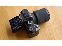 Sony a7r ! Amazing condition + dual charger + three batteries