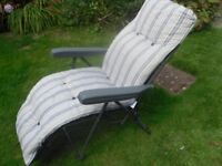 2 x garden recliners in great condition.