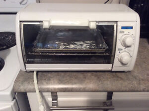 Black and Decker Toaster Oven. Rarely used.