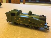 Lima small LNER 8920 steam loco L205101 U class J50 some wear to paintwork