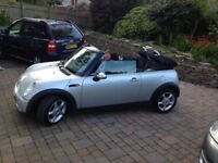 Mini One convertible,excellent condition.