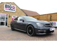 2013 MERCEDES C-CLASS C63 AMG 4 D AUTO 457 BHP AMG DRIVERS PACKAGE COUPE PETROL