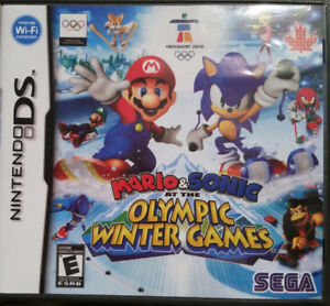 Mario & Sonic at thee Olympic Winter Games - Nintendo DS