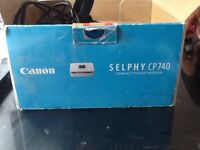 Brand new canon selphy CP740