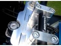 98/99 fireblade billet top yoke conversion and two sets of renthal street bars