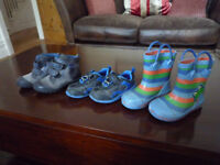 Free Baby Boys Clarks Boots, Trainers and Wellies in size 5.5