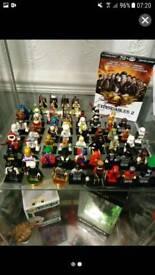 Lego Minifigure Collection plus bonus vehicle