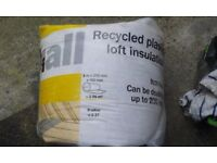 Diall Loft Insulation, (L)8m (W)370mm (T)100mm - unopened